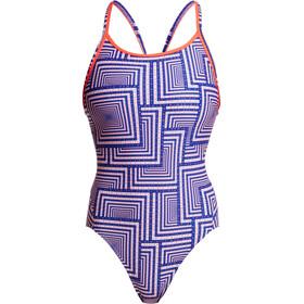 Funkita Diamond Back One Piece Swimsuit Women i said swim
